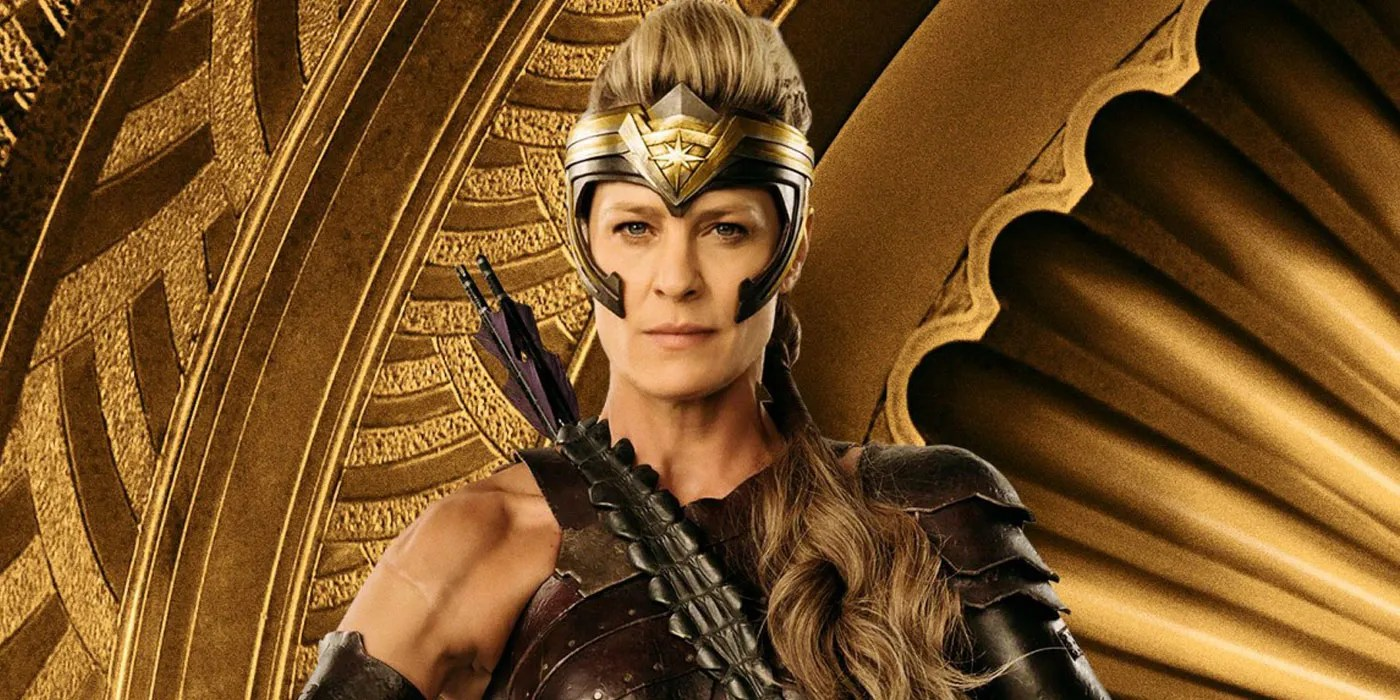 How Patty Jenkins convinced Robin Wright to play Antiope