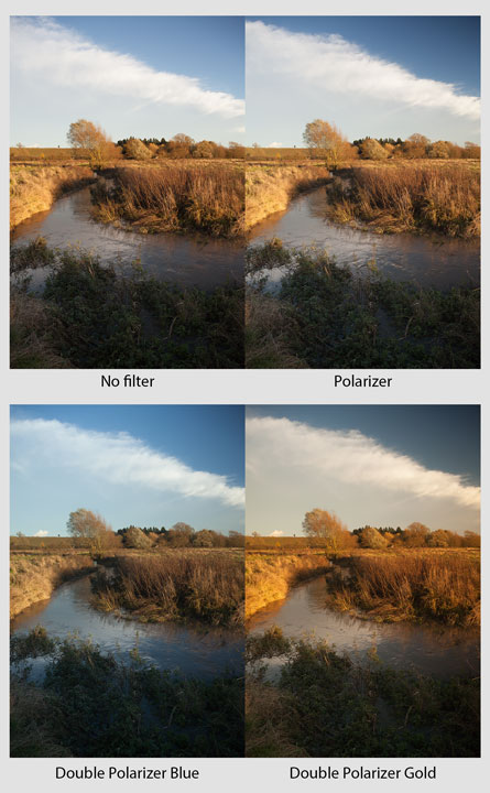 Polarizer Filter Effect