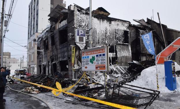 Resultado de imagen de incendio en una residencia de ancianos japon