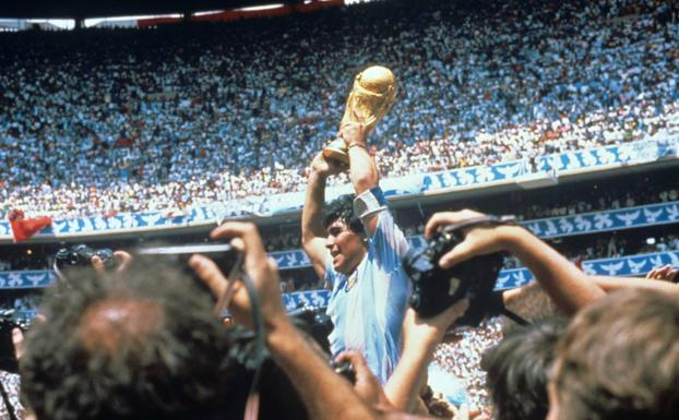 Video |  This is how Maradona scored the best goal of the World Cup