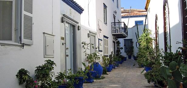 Dans les rues d'Hydra, Grèce