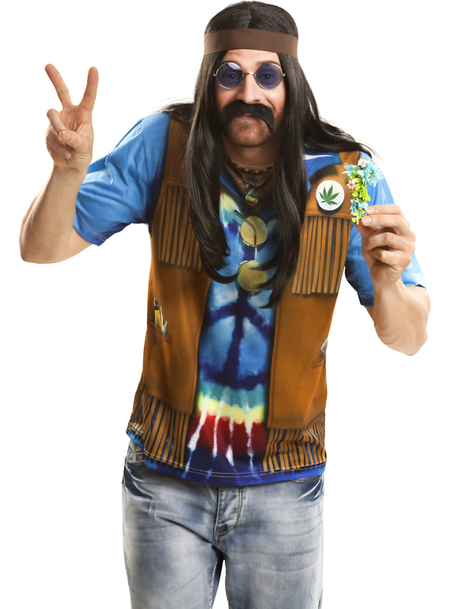 Mens Festival Hippy T Shirt