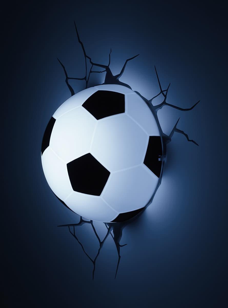 Fodbold 3D Lampe Officielle Til Fans Funidelia