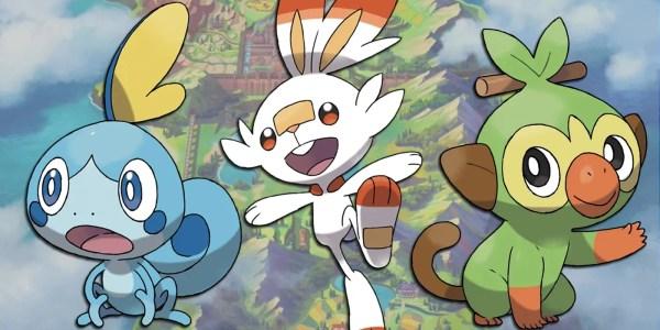 Pokemon Sword and Shield Leak States Starter Evolution Types
