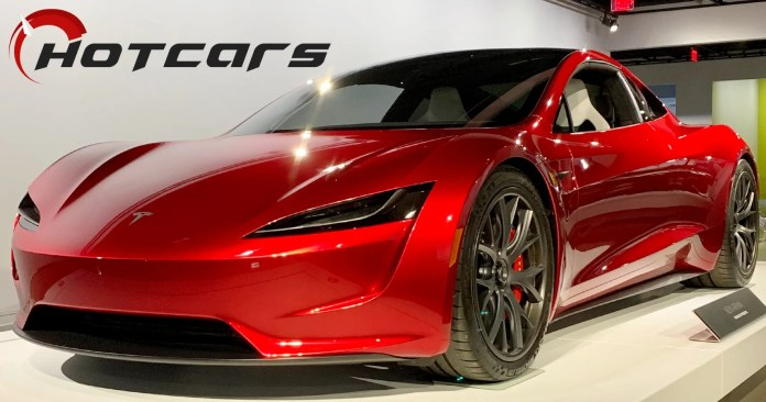 Exclusive First Shots Of The New Tesla Roadster At The Petersen Museum