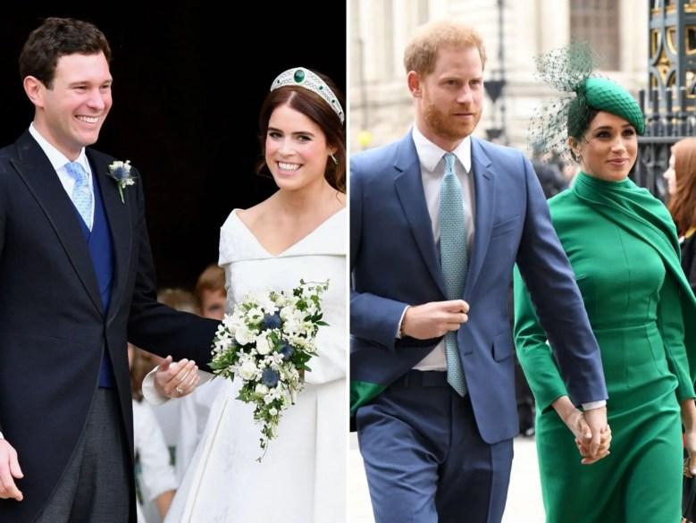 princess eugenie jack brooksbank frogmore cottage prince harry meghan markle