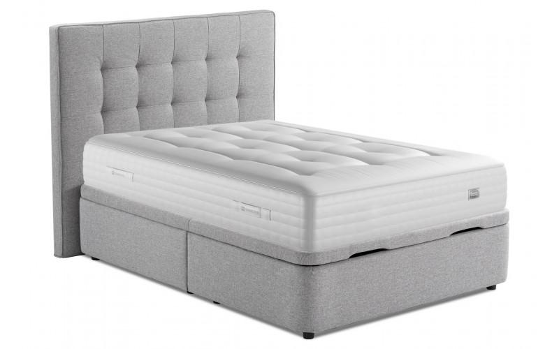 tete de lit la compagnie du lit capitonne classique 170 cm cendre romer