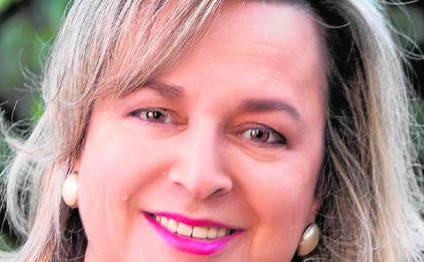 La profesora Gemma Fajardo./LP