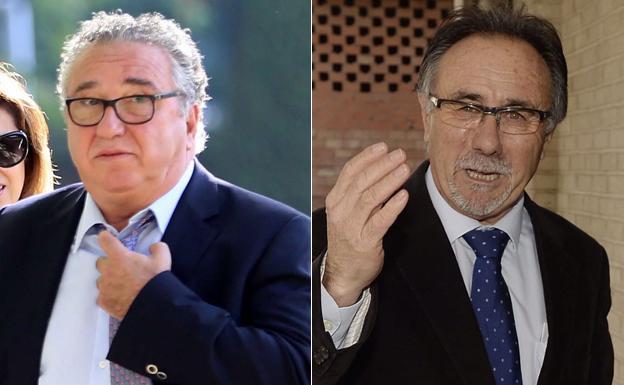 Eduardo Contreras y J. Manuel Alcañiz./LV