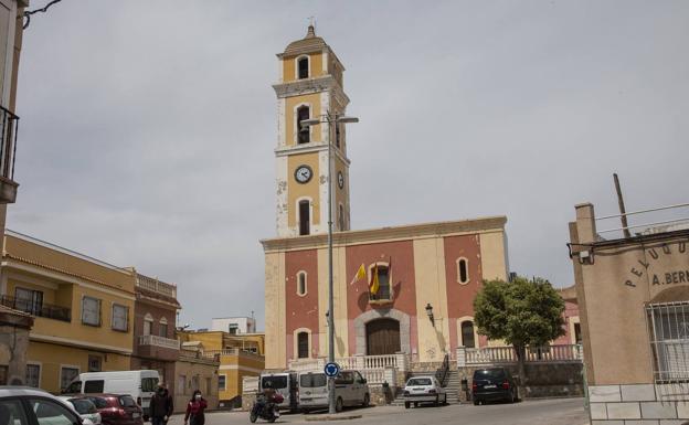 San Antón Parish in a file image.