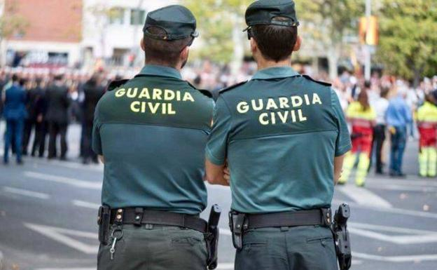 The Civil Guard, in a file image.