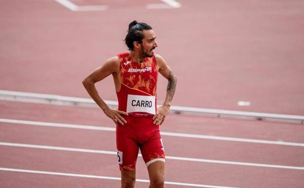 Fernando Carro, after his retirement in his series of 3,000 obstacles.