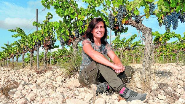 The Elena Pacheco winery, in one of his favorite vineyards, baptized as El Calvario.