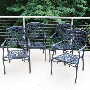lot art frontgate outdoor patio chairs