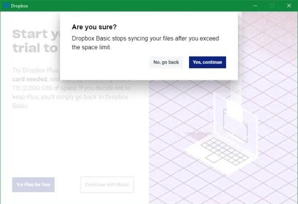 Dropbox备份基本警告