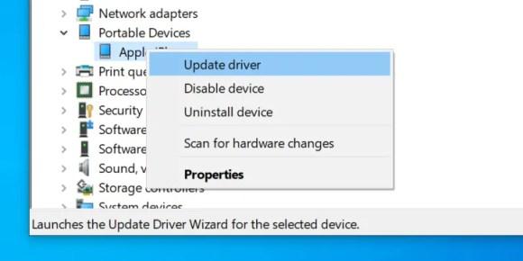 更新ipod驱动程序