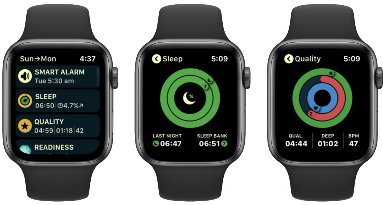 Autosleep Apple Watch app
