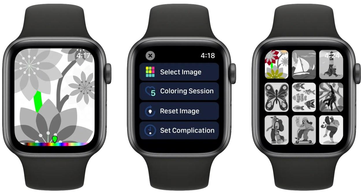 Coloring Watch Apple Watch app