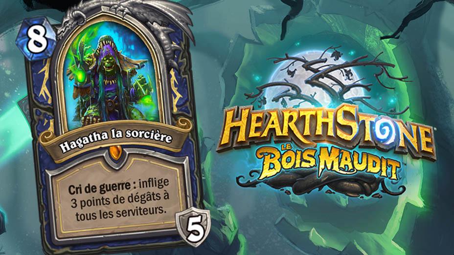 Hearthstone Hagatha La Sorcire Nouvelle Carte Hros