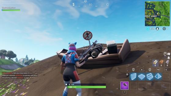 Fortnite: batalla real
