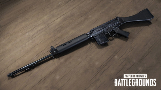 PUBG Nouvelle Arme SLR Millenium