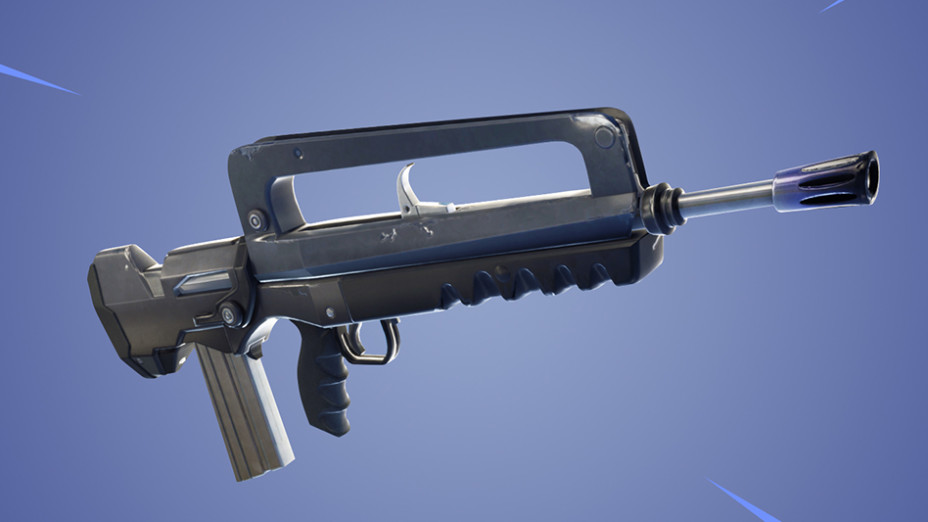 Fortnite Fusil Dassaut Rafale Nouvelle Arme Millenium