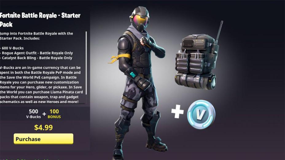 Fortnite Nouveau Pack Pack De Dpart Skin Halo Millenium