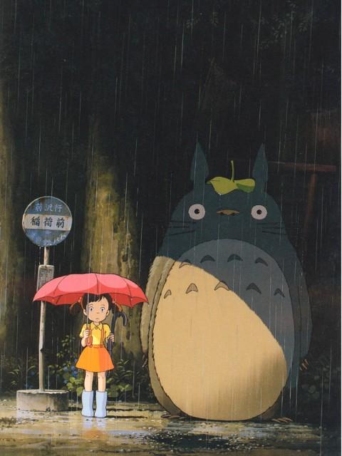 Hayao Miyazaki, Studio Ghibli, My Neighbor Totoro, Totoro, Satsuki Kusakabe