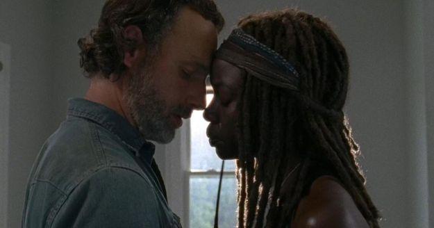 "The Walking Dead"": na 9ª temporada, Rick e Michonne podem ter ..."
