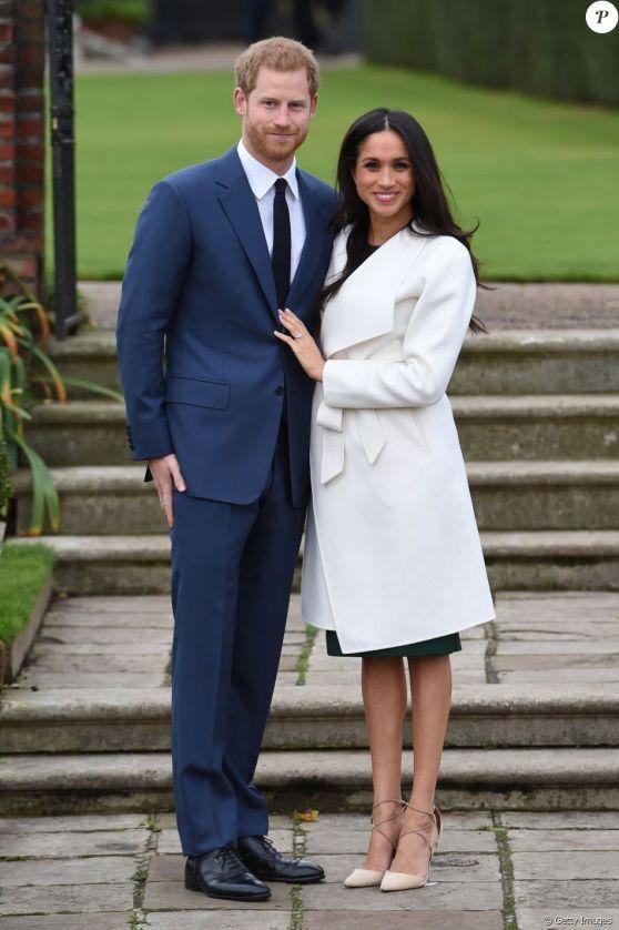 Príncipe Harry e Meghan Markle fizeram a primeira aparição após anúncio de noivado nesta segunda-feira, 27 de novembro de 2017
