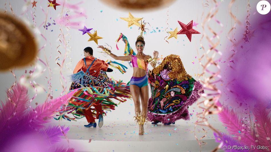 Globo Repete Cenas Da Globeleza Em Vinheta De Carnaval E