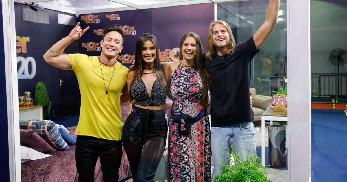 Daniel Caon participou da Casa de Vidro do 'Big Brother Brasil 20' -  Purepeople