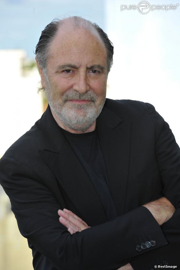 Michel Delpech, pose au 5e festival du film francophone d'Angoulême le 28 août 2012.