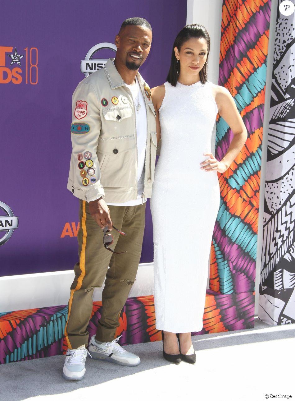 Jamie Foxx et sa fille Corinne Bishop à la soirée BET Awards