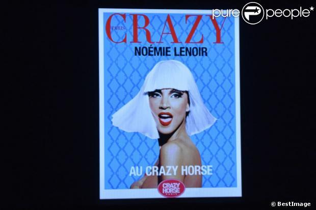 Noémie Lenoir, danseuse invitée au Crazy Horse du 2 au 8 juin.