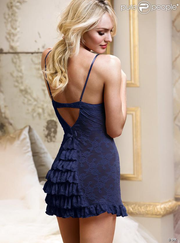 Candice Swanepoel, divine égérie pour Victoria's Secret.