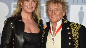 Rod Stewart : Sa femme Penny recrutée… par la police londonienne !