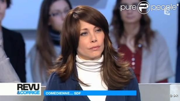 Mallaury Nataf s'en prend à Paul Amar dans son émission Revu et Corrigé sur France 5 le 4 février 2012 à paris