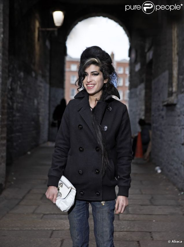 Amy Winehouse, Londres, février 2007.