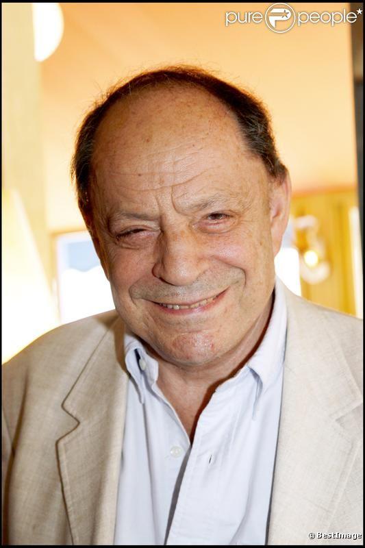 Charles Dumont lors de la première de la comédie musicale Piaf, je t'aime à l'Olympia en juillet 2007