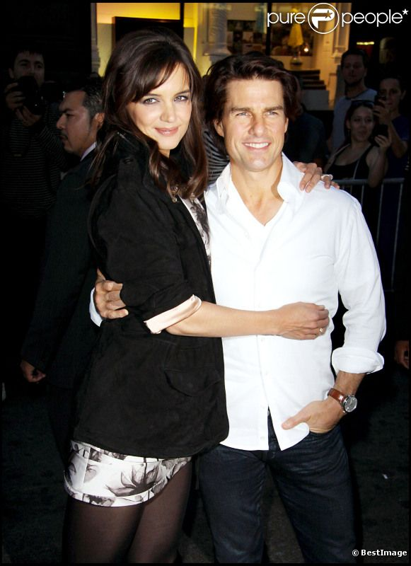 Katie Holmes et Tom Cruise câlins en septembre 2010 à New York