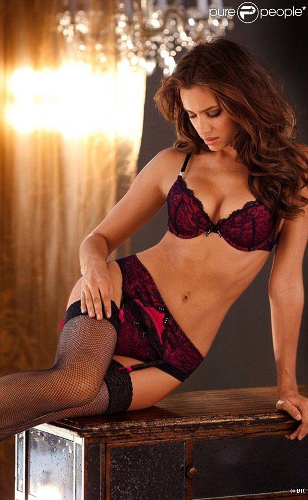 Irina Shayk pour Lascana lingerie