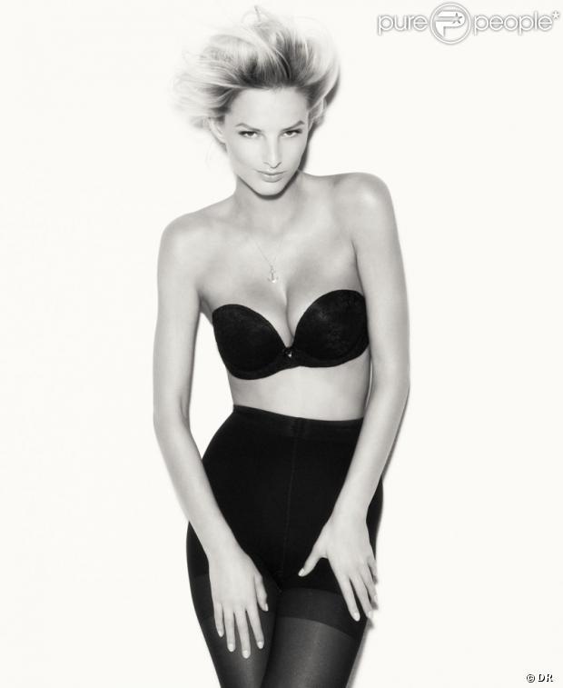 Michaela Kocianova sexy en lingerie pour SUITEBLANCO.