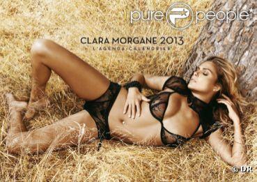 Clara Morgane très sexy dans son calendrier 2013