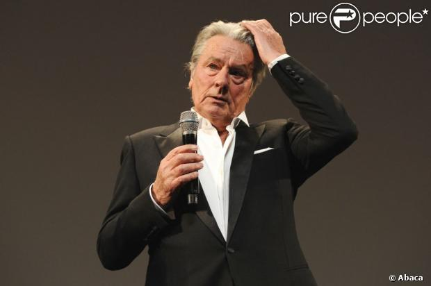 Alain Delon attending the 'Alain Delon Honorary Ceremony' held at the Palais Des Festivals as part of the 66th Cannes film festival, in Cannes, southern France, on May 25, 2013. Photo by Aurore Marechal/ABACAPRESS.COM25/05/2013 -