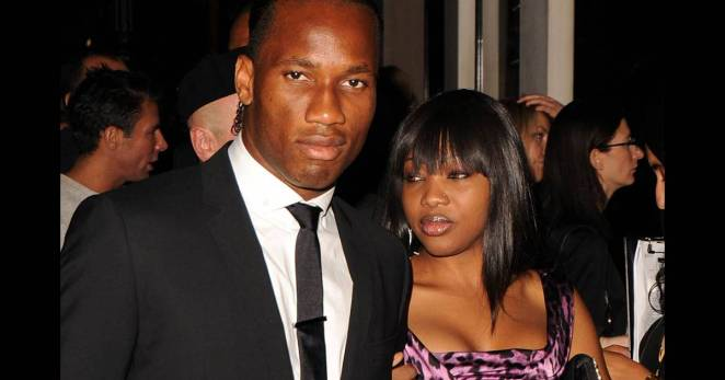 """Without my wife, my career would have been different,"" said Didier Drogba"