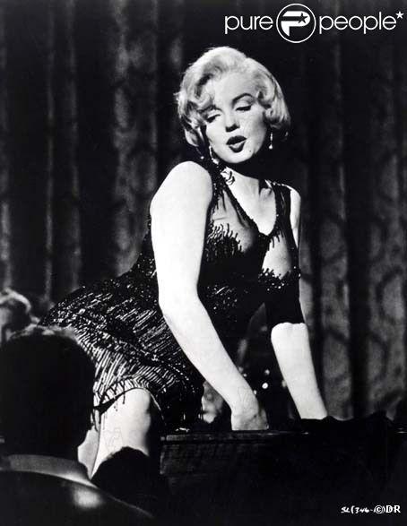 Marilyn Monroe dans Certains l'aiment chaud