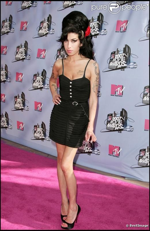 Amy Winehouse en juin 2007 lors des MTV MoVIe Awards