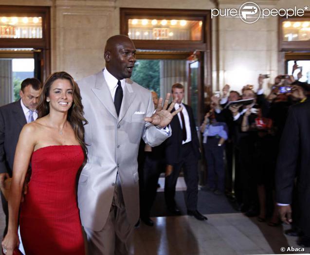 Michael Jordan et a fiancée Yvette Prieto, à Springfield, le 11 septembre 2009.