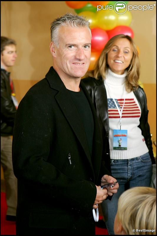 Didier Deschamps en 2005 à Paris.